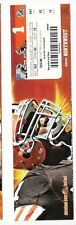 2009 CLEVELAND BROWNS VS TENNESSEE TITANS TICKET STUB 8/29/09