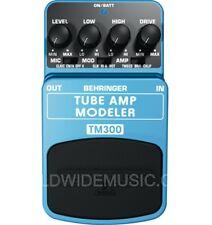 Behringer TM300 Tube Amp Modelling Guitar Effects Pedal / Stomp Box