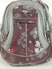 RUIPAI Flower Sport Backpack NEW Purple Pink and Gray