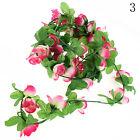 Rose Flower Ivy Vine Silk Flowers Hanging Garland Plant Home Garden Decoration