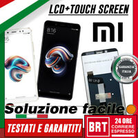 DISPLAY LCD+TOUCH SCREEN PER XIAOMI REDMI RED MI NOTE 5 SCHERMO VETRO BRT_24H!