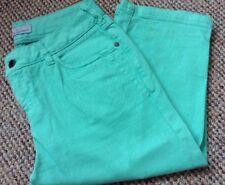 Crew clothing Green Pedal Pushers / Capri Pants Size 8-10