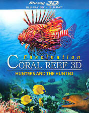 Fascination Coral Reef: Hunters and the Hunted (Blu-ray 3D + Blu-ray), New DVDs