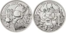 Russia 2017 25 Rubles set Winnie the Pooh & Three Heroes 2 coins