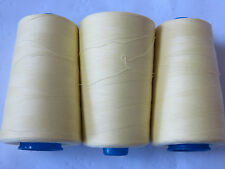 3X 5000m rolls SEWING / OVERLOCKING Thread $4 roll. Lots of Colours in Eby store