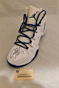 Carmelo Anthony Signed Autographed Game Used M10 Jordan Sneaker Steiner COA