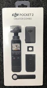 DJI Pocket 2 Creator Combo 3-Axis Stabilized Handheld Camera + Charging Case