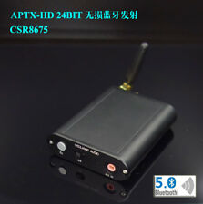 Bluetooth 5.0 csr8675 transmitter coaxial fiber optic analog input headset
