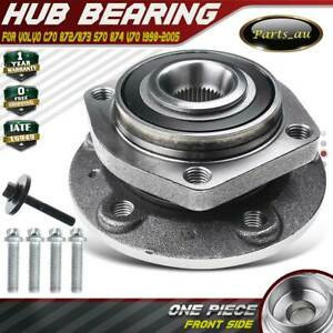 1x Front LH or RH Wheel Bearing Hub for Volvo C70 872/873 S70 874 V70 1998-2005