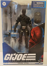 GI Joe Classified Series Snake Eyes 6 inch Action Figure New FREE SHIPPING!!