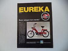 advertising Pubblicità 1973 GARELLI EUREKA 50
