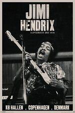 Jimi Hendrix - Brand New Licensed Maxi Poster 91.5 x 61cm - Copenhagen
