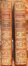 ORBESSAN. VARIETES LITTERAIRES. AUCH. DUPRAT. 1778. EDITION ORIGINALE. 2 VOLUMES