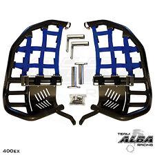 HONDA TRX 400ex 400X  Nerf Bars  Pro Peg  Alba Racing   Black/ Blue  211 T7 BL