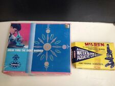 Vintage Tasco Microscope Kit #992 Discoverer science discovery + Milben Slides