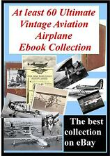 Ultimate 60 Vintage History of Aviation Flying Aircraft Rare Books photo's pics