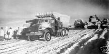 Soviet Russian Army Vehicles Stalingrad 1942 World War 2, 7x4 Inch Reprint