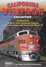 California Vintage Collection Pentrex Train DVD New