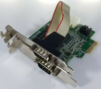 StarTech PEX2S952LP 2 Port Low Profile Native RS232 PCI Express Serial Card