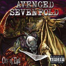 Avenged Sevenfold - City Of Evil CD Album Explicit Content
