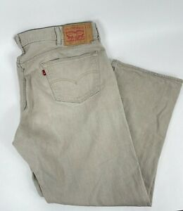 Levis 501 XX Straight Men's Button Fly Sand Denim Jeans Size 46 X 32 Cone Denim