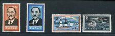 Greece 1956 1960 Scott 664-65, 667-68 - Irmy Nagy, Ship NH