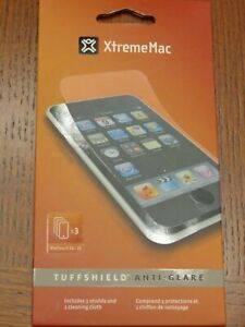 XtremeMac Tuffshield Clear Gloss Screen Protector for Apple iPod Touch 3G/2G,