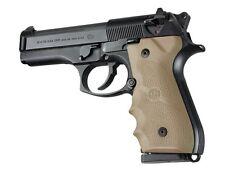 Hogue Beretta 92F, 92FS, 92SB. 96 & M-9 wrap around finger grip Dark Earth 92003