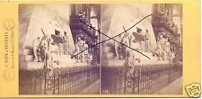 19565/ Stereofoto 9x17,5cm, C. Naya, Piazza S. Marco, Venedig, ca. 1870
