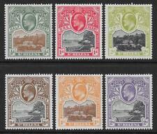 St Helena 1903 Set to 2/- (Mint)