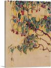 ARTCANVAS Fuchsia - Sonnenbaum 1910 Canvas Art Print by Egon Schiele