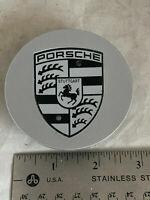 Porsche Silver and black 7pp601150 center cap like new condition