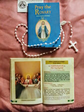 Pray The Rosary Expanded Large Type Edition W/ Scripture Readings By J.M. Lelen