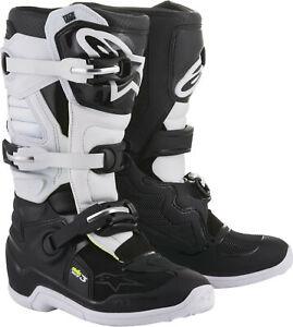 Alpinestars 2018 Tech 3 Stella Boots 9 Black/White 2013218-12-9