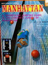 Manhattan Arcade FLYER Original Data East Video Game Artwork Sheet 1980 Deco