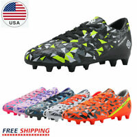 DREAM PAIRS Soccer Shoes JR Kids Boys Girls Outdoor Sport Football Soccer Cleats