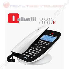 OLIVETTI 380R TELEFONO ANALOGICO CON FILO DISPLAY LCD VIVAVOCE SEGRETERIA