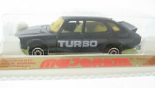Majorette 284 - Saab 900 Turbo - schwarz black 1:62 Neu in OVP New sealed model