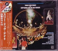 THREE DOG NIGHT Was Captured Live at the Forum NEW 2002 JAPAN UICY-3372 CD Rare