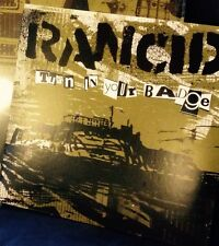 "Rancid Turn In Your Badge 7"" BLUE VINYL Record non honor is all we lp songs NEW!"