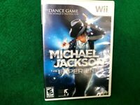 Michael Jackson: The Experience (Wii, 2010) Replacement Case & Artwork ONLY