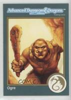 1993 TSR Dungeons & Dragons Gold #7 Advanced D&D 2nd Edition Ogre Card 1k3