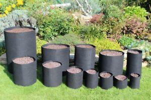 Pflanzsack Pflanzbeutel Blumentopf Töpfe Smart grow container - Größen Wählbar!!