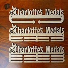 personalised medal hanger holder rack Mdf wood for craft various sizes