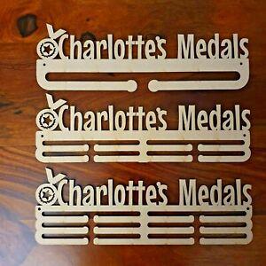 personalised medal hanger holder rack Mdf wood for craft various sizes