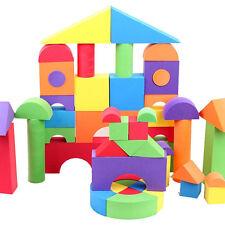 50 blocks 011#  Eva foam building blocks assembling educational kids toy