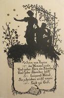 """""""Scherenschnitt, Männer, Frauen, Sterne"""" 1910, Meissner & Buch ♥"""