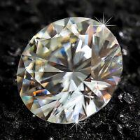 9mm H Color Brilliant White Diamond 2.75cts Round Shape Loose VVS1 Clarity #