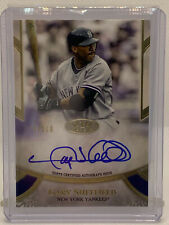 2021 Tier One GARY SHEFFIELD Certified PRIMER PERFORMERS Auto /300! ON-CARD! WOW
