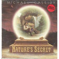 Michael Cassidy Lp Vinile Nature's Secret / Iskcon Records GLR-1 Nuovo